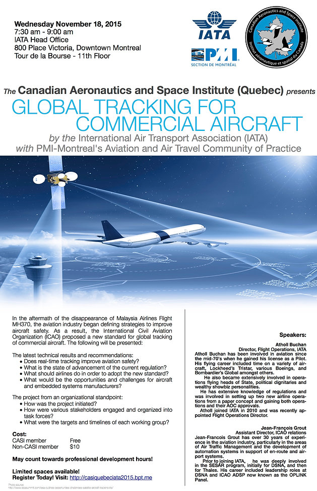 Global Tracking for Commercial Aircraft by the International