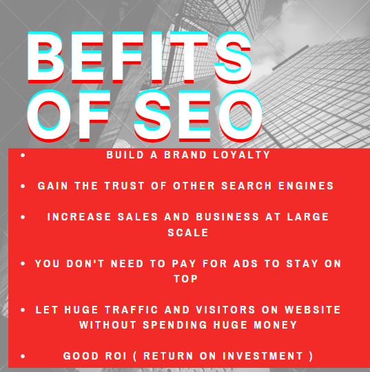 Read about the 6 main benefits of SEO (Search Engine Optimization)