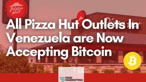Pizza Hut joins Burger King and several other major stores in  Venezuela that accept bitcoin.