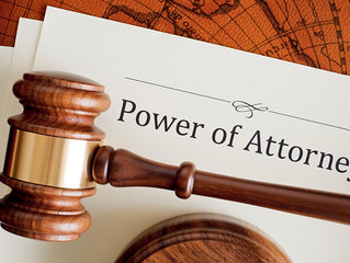 Things to know when thinking about a Power of Attorney