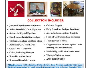 Online Estate Sale Auctions