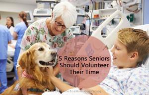 5 Reasons Volunteerism is Great for Seniors