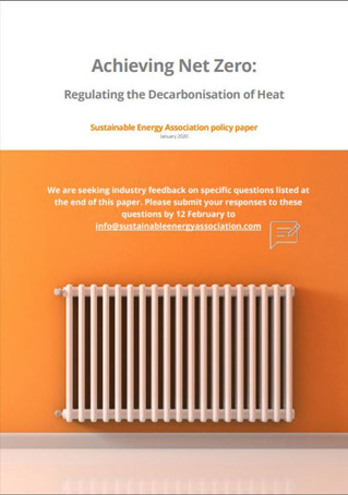 Paper points the way to legislating for decarbonised heat