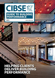 CIBSE introduce itsnew Guide to Building Performance
