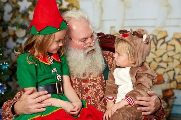 Santa's surprise vistors!