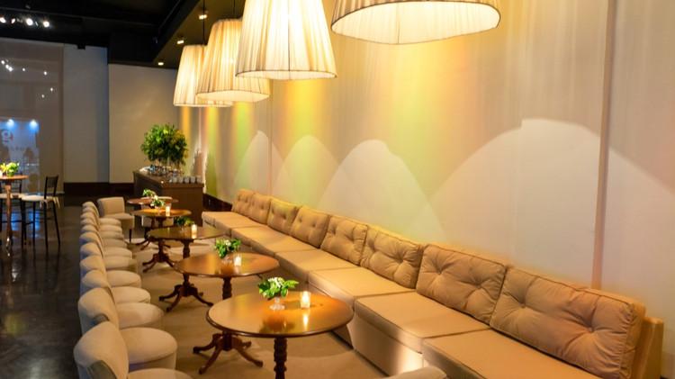 Lounge com cupulas