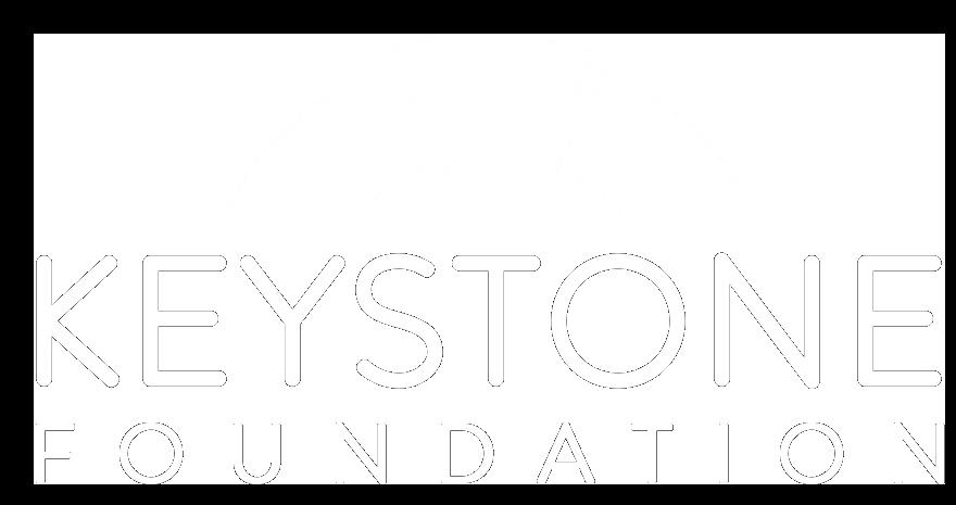 White Keystone Foundation logo