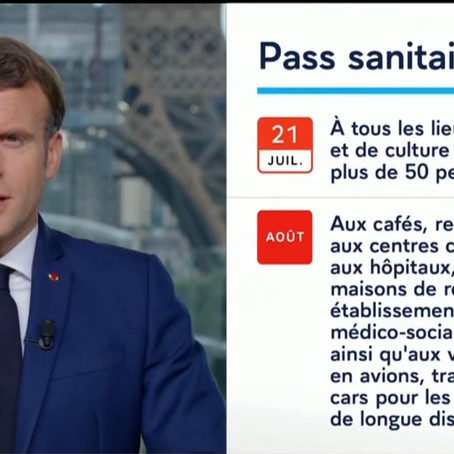 Covid-19 : Macron hausse le ton