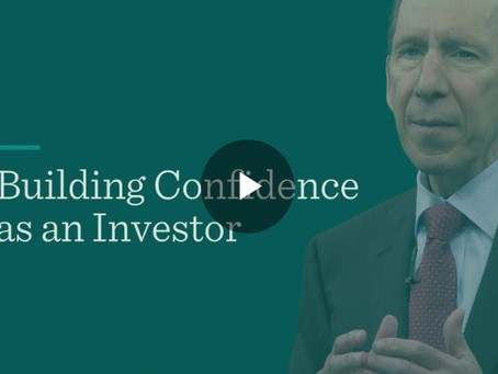 Building Confidence as an Investor