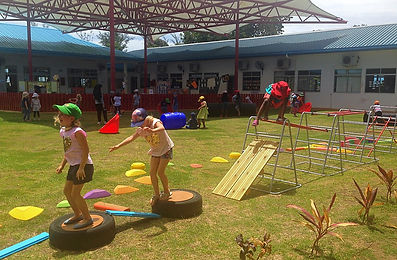 Rampayoh children at break time