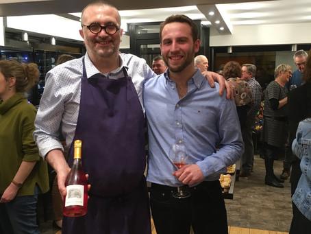 Super soirée tapas avec le champagne Lequeux Mercier de Passy sur Marne