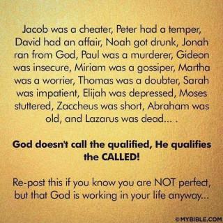 Seeking Imperfect People