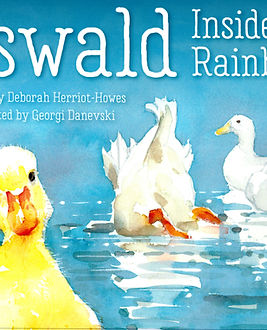 Oswald the duckling Inside A Rainbow