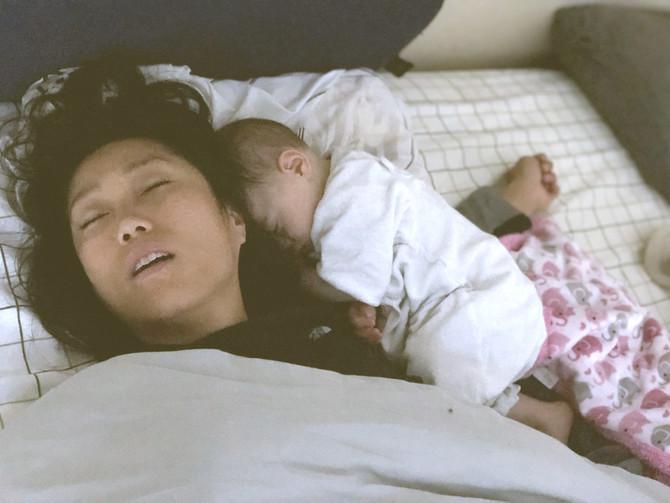 母の愛と共に眠る
