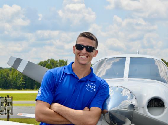 Certified flight instructor Nick Hogsed.