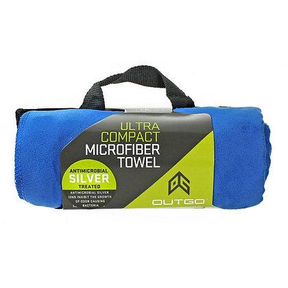 Ultra Compact Microfiber Towel Large Blue