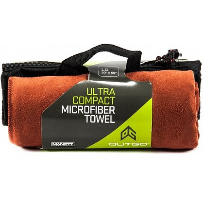 Ultra Compact Microfiber Towel Large Terra Cotta