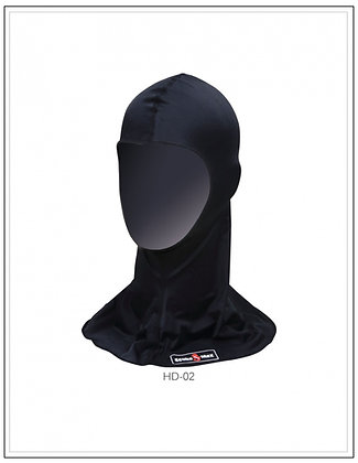 Lyrca hood with UV50 proctection