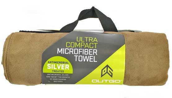 Ultra Compact Microfiber Towel X Large Mocha