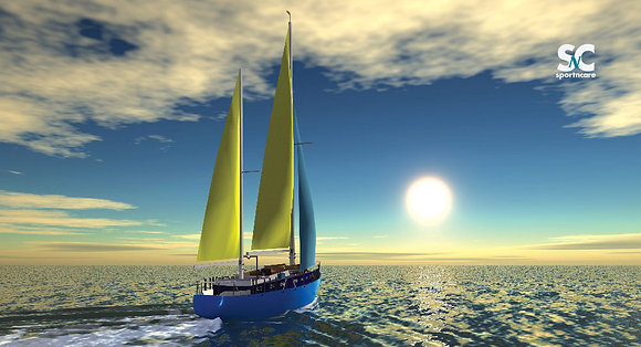 Sailing Sunshine - MT5095