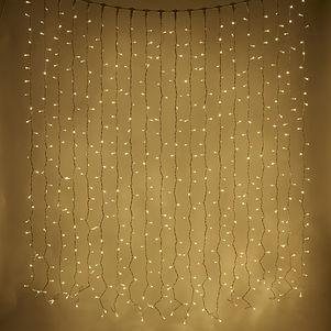 LED lampiņu aizkara noma