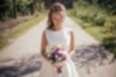 Līgavas pušķis lillā