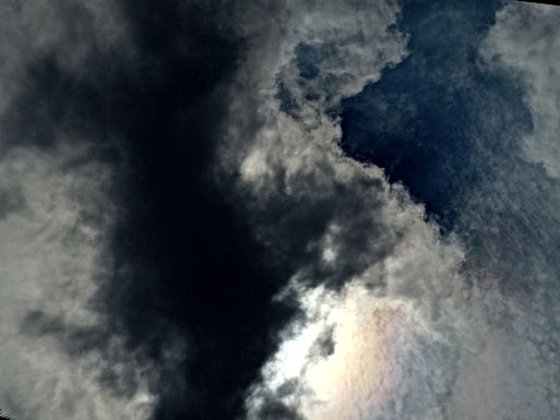 Stormweer boven Limburg