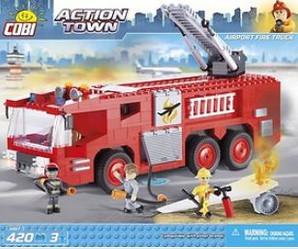 Klocki konstrukcyjne z serii Action Town, czyli miasto w akcji!