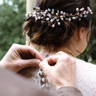 Bridal hair North Yorkshire © Rosanna Li