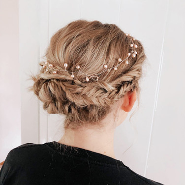 Bridal hair North Yorkshire
