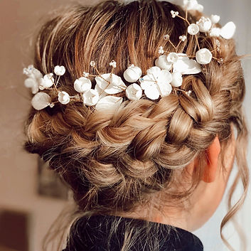 bridal hair yorkshire