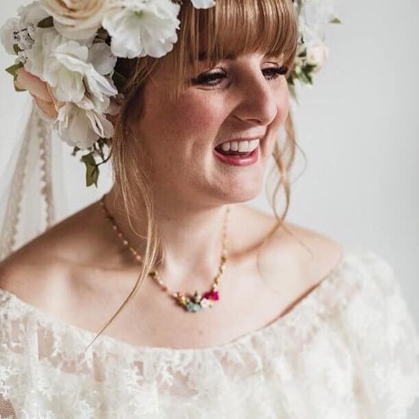 Yorkshire Wedding Make Up © Jamie Lee En