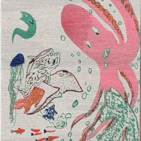 Sea World: Hand geknüpfter Teppich - Ein bleibendes Andenken und Kunstwerk