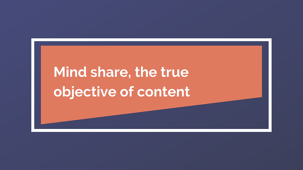 RootBranded mind share objective quality content