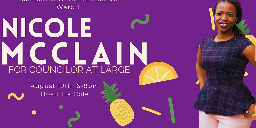 Cookout With The Candidate: Nicole McClain