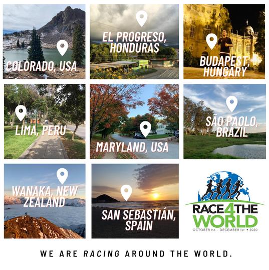 racing around the world