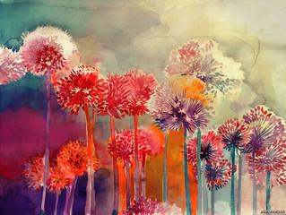 Artista da semana: aquarelas de Maja Wronka