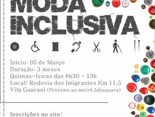 Curso gratuito de Moda Inclusiva