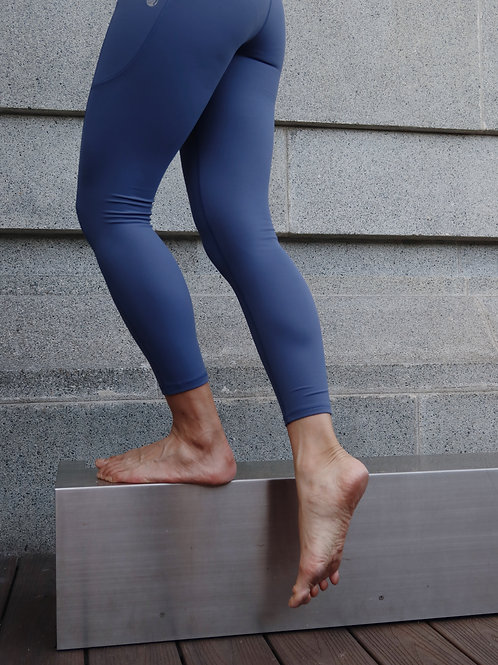 7/8 High Waist Allude Leggings in Cosmo Blue