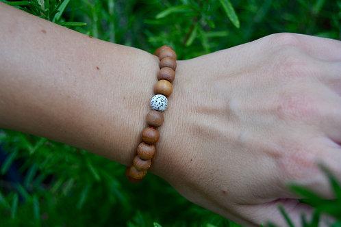 The Sandalwood Bracelet: 1 Lotus Seed