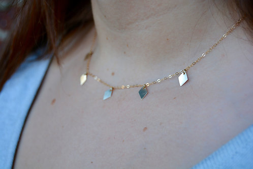 The Diamond Tag Necklace