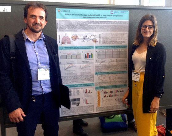 Daniel and Estela attend the ICSA 2018 in Montreal