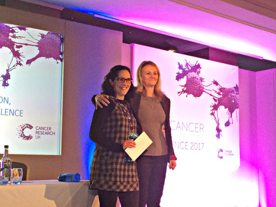 Marta won the 1st Poster Prize at the Lung Cancer Conference!