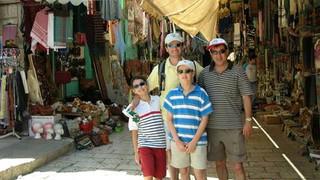 May 2006: In Jerusalem with Georgiou Georgios..