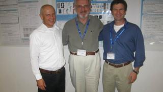 June 2011– Jacob Bortman, Barna Szabo and Z.Y., HOFEIM 2011, Crakow.