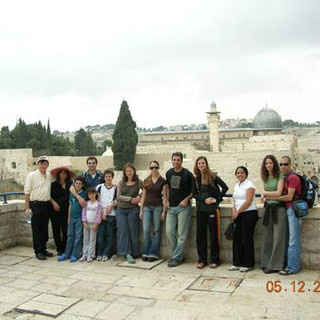 Saturday morning journey to the old city (Ilan, Nurit, Elad are absent) –Moti and Osnat, Zohar with Omer, Inbar & Royee,  Michal, Shani, Nir, Shunit, Shunit's friend (forgot her name), Netta, Nirel
