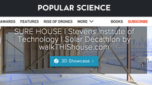 walkTHIShouse on Popular Science!