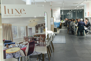 Our private dinner event with Luxe Magazine at Callagaris Showroom a huge success!