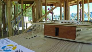 Scanning a Solar Decathlon house