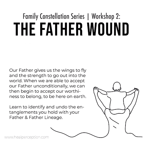 The Father Wound Workshop Video - Zoom Conference